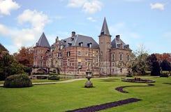 Middeleeuws kasteel Twickel in Delden Nederland stock afbeeldingen