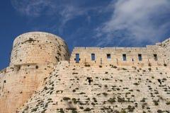 Middeleeuws kasteel van krak des chevalliers Royalty-vrije Stock Fotografie