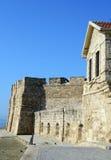 Middeleeuws Kasteel van Larnaka Stock Afbeelding
