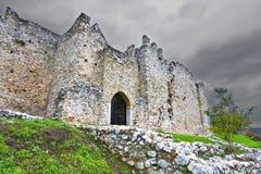 Middeleeuws kasteel in Zuid-Europa Royalty-vrije Stock Foto