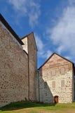 Middeleeuws Kastelholm-ingebouwd Kasteel (14de eeuw), Aland-eilanden royalty-vrije stock afbeeldingen