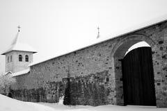 Middeleeuws klooster Royalty-vrije Stock Afbeeldingen
