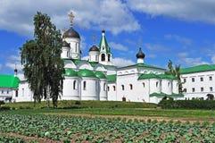 Middeleeuws klooster Spassky in Murom, Rusland Royalty-vrije Stock Afbeelding