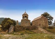 Middeleeuws klooster Srbanes of Heilige Hovhannes dichtbij het dorp van Ardvi, VIIIXVII eeuwen, stock foto