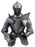 Middeleeuws kostuum van pantser royalty-vrije stock fotografie