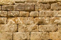 Middeleeuws muurdetail 2 stock fotografie