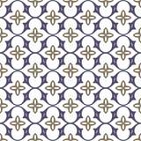 Middeleeuws naadloos patronen vectorbeeld stock illustratie