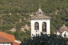 Middeleeuws Orthodox Klooster van Timiou Prodromou St John de Doopsgezinde dichtbijgelegen stad van Serres, Griekenland royalty-vrije stock fotografie