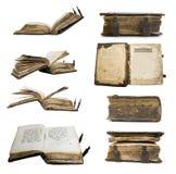 Middeleeuws oud boek, psalter stock foto