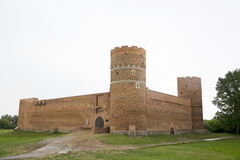middeleeuws oud kasteel stock afbeeldingen