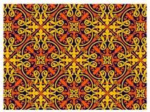 Middeleeuws Patroon stock illustratie