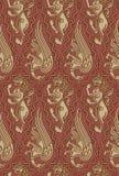 Middeleeuws patroon Stock Foto