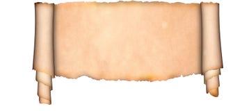 Middeleeuws perkament Stock Foto