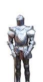 Middeleeuws ridderpantser stock foto's