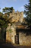Middeleeuws Rijtjeshuis stock foto