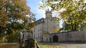 Middeleeuws slot Royalty-vrije Stock Fotografie