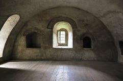 Middeleeuws torenbinnenland royalty-vrije stock afbeelding