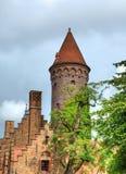 historisch centrum van Brugge Royalty-vrije Stock Foto's