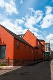 Middeleeuwse architectuur van Engeland, het UK Stock Afbeelding