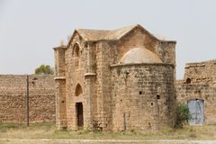 Middeleeuwse Armeense Kerk, Famagusta, Cyprus Royalty-vrije Stock Foto