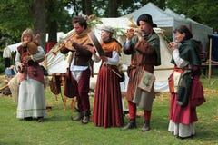 Middeleeuwse band Royalty-vrije Stock Foto's
