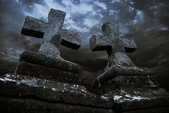 Middeleeuwse Christus-stenen Royalty-vrije Stock Foto's