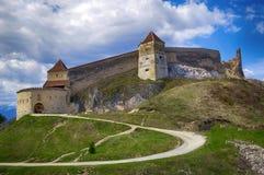 Middeleeuwse citadel royalty-vrije stock foto