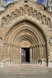 Middeleeuwse deur Stock Afbeeldingen