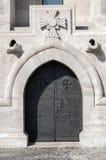 Middeleeuwse deur Stock Foto's