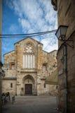 Middeleeuwse en historische stad in het centrum van Spanje Stock Foto's