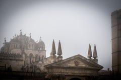 Middeleeuwse en historische stad in het centrum van Spanje Royalty-vrije Stock Foto's
