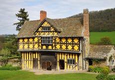 Middeleeuwse Engelse Gatehouse stock afbeelding
