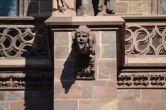 Gotische Kathedraal van Freiburg, Zuidelijk Duitsland Royalty-vrije Stock Foto's