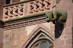Gotische Kathedraal van Freiburg, Zuidelijk Duitsland Royalty-vrije Stock Afbeeldingen