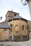 Middeleeuwse gebouwen van Franse stad Royalty-vrije Stock Afbeeldingen