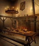 Middeleeuwse herberg 1 Royalty-vrije Stock Afbeelding