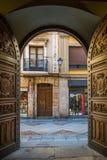 Middeleeuwse historische stad van Zamora in Spanje Royalty-vrije Stock Fotografie