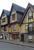 Middeleeuwse huizen Stock Foto's
