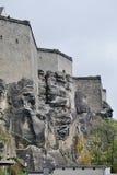 Middeleeuwse kasteel Duitse Hertogdommen Stock Foto