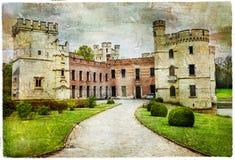 Middeleeuwse kastelen van België - Bouchot Stock Afbeeldingen