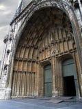 Middeleeuwse kathedraal royalty-vrije stock afbeeldingen