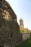 Middeleeuwse kerk Stock Fotografie