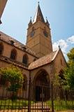 Middeleeuwse kerk Stock Foto's