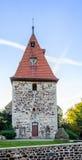 Middeleeuwse kerk Royalty-vrije Stock Afbeeldingen