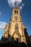 Middeleeuwse kerk Royalty-vrije Stock Fotografie