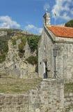 Middeleeuwse kerk Stock Afbeelding