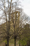 Middeleeuwse kerk stock foto