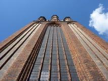 Middeleeuwse kerk NMP Stock Foto's