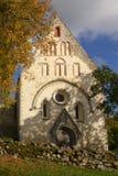 Middeleeuwse Kerk Valjala Stock Afbeeldingen