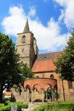 Middeleeuwse kerken in Duitsland Stock Foto's